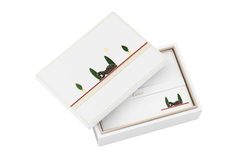 cartier luxury home objects decor collection holiday christmas card letter