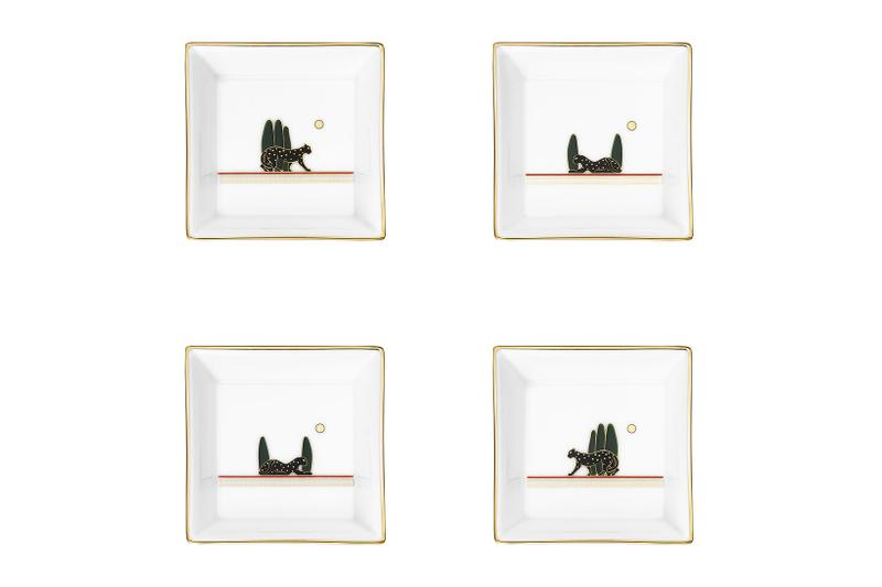 cartier luxury home objects decor collection holiday christmas porcelain trinket tray diabolo