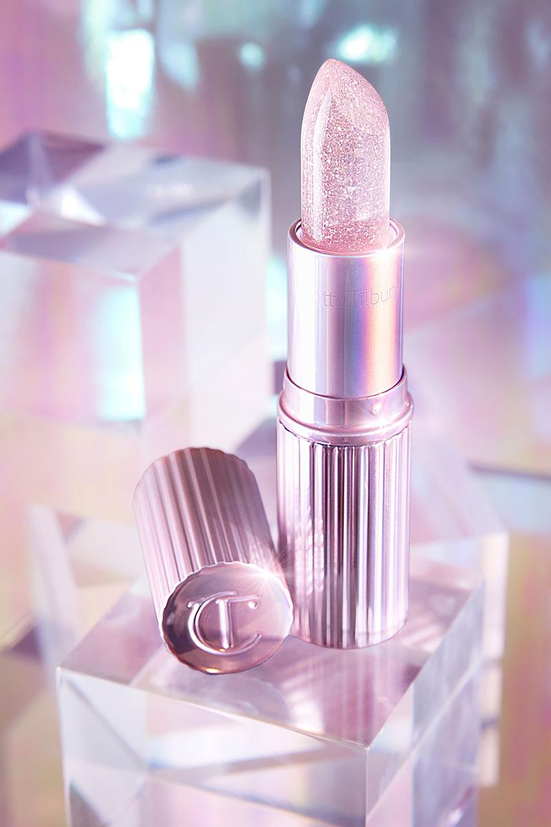 charlotte tilbury glowgasm lipstick makeup red pink