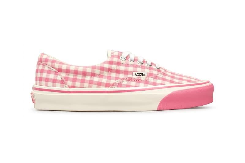 Comme des Garcons Girl x Vans OG Era LX Pink Gingham Polka Dot