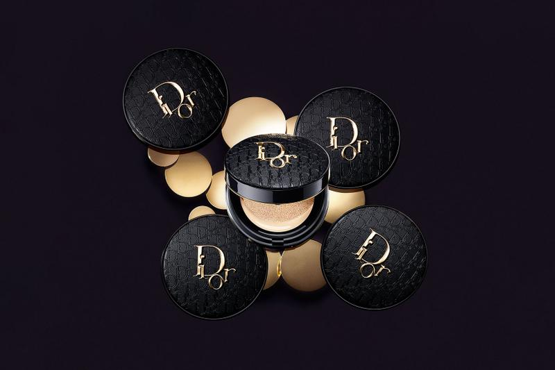 dior forever diormania gold edition couture cushion powder foundation monogram beauty