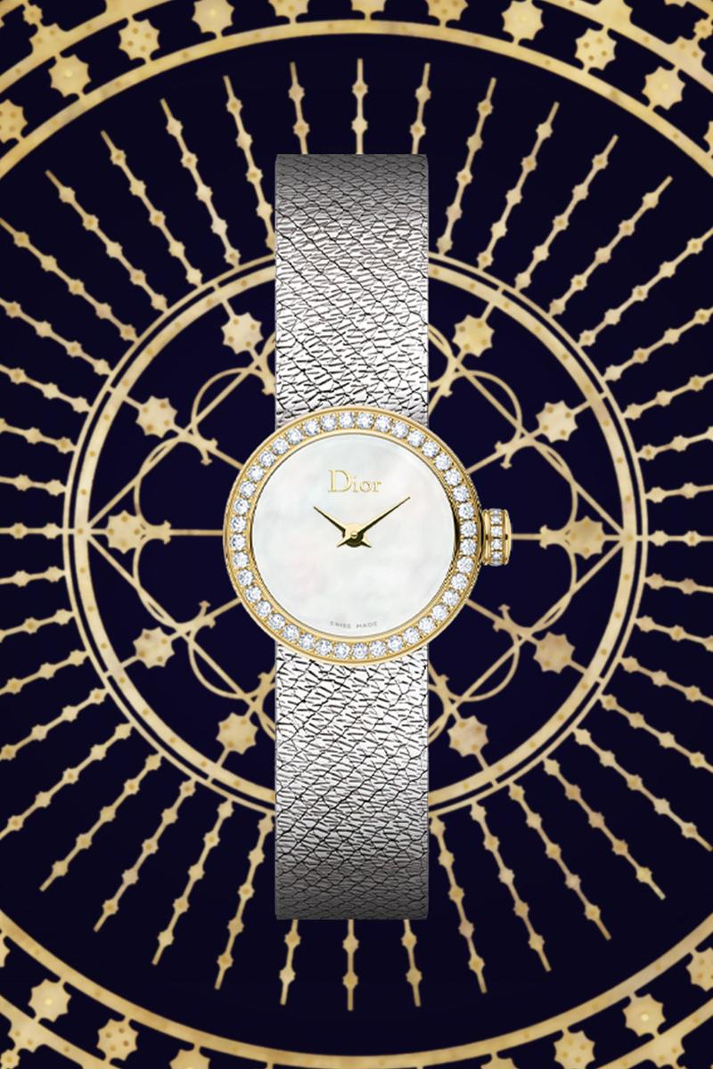 dior holiday christmas joallierie horlogerie accessories collection designer watches diamonds