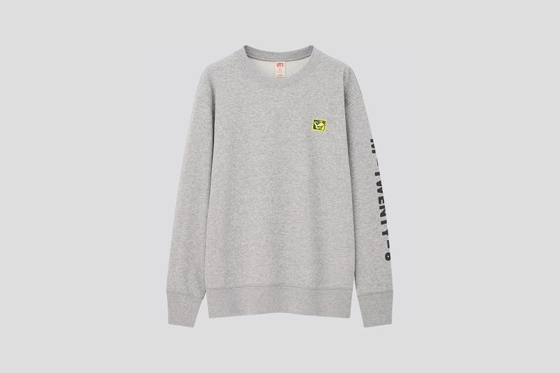 Disney Mickey Mouse x Keith Haring x UNIQLO UT Collaboration Collection Sweatshirt Sweater Black White