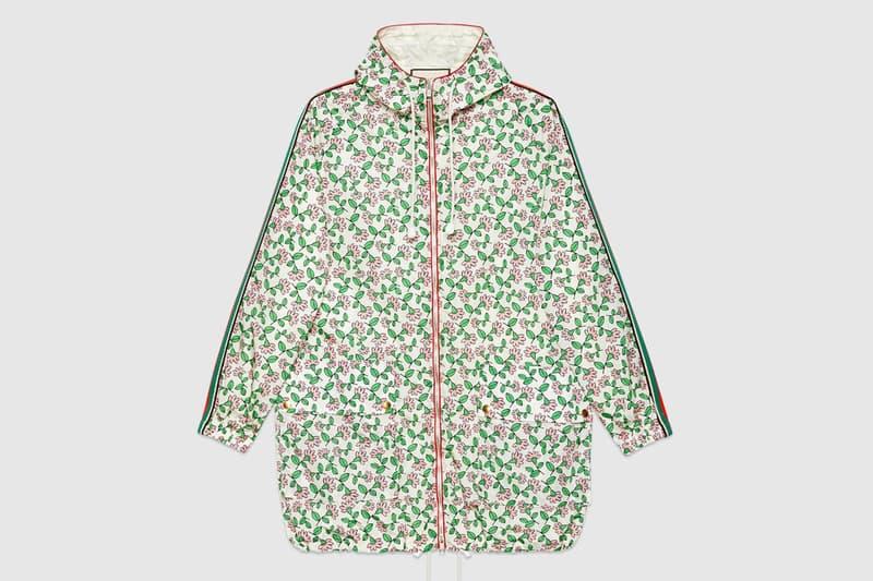 gucci doraemon capsule collaboration collection nylon coat jacket