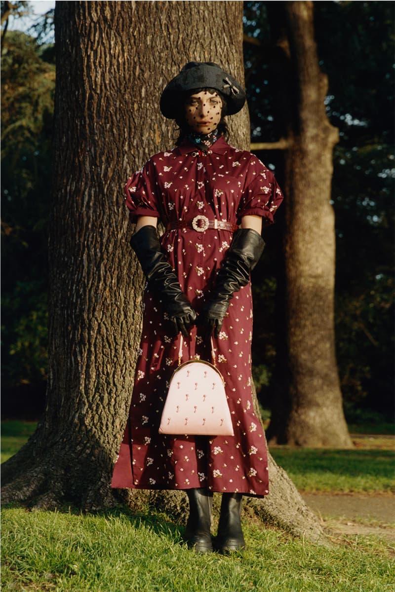 erdem moralioglu pre-fall 2021 collection lookbook nancy mitford pattern dress