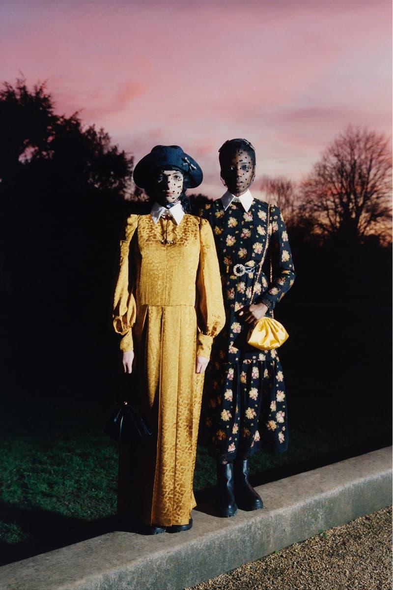 erdem moralioglu pre-fall 2021 collection lookbook nancy mitford floral dress
