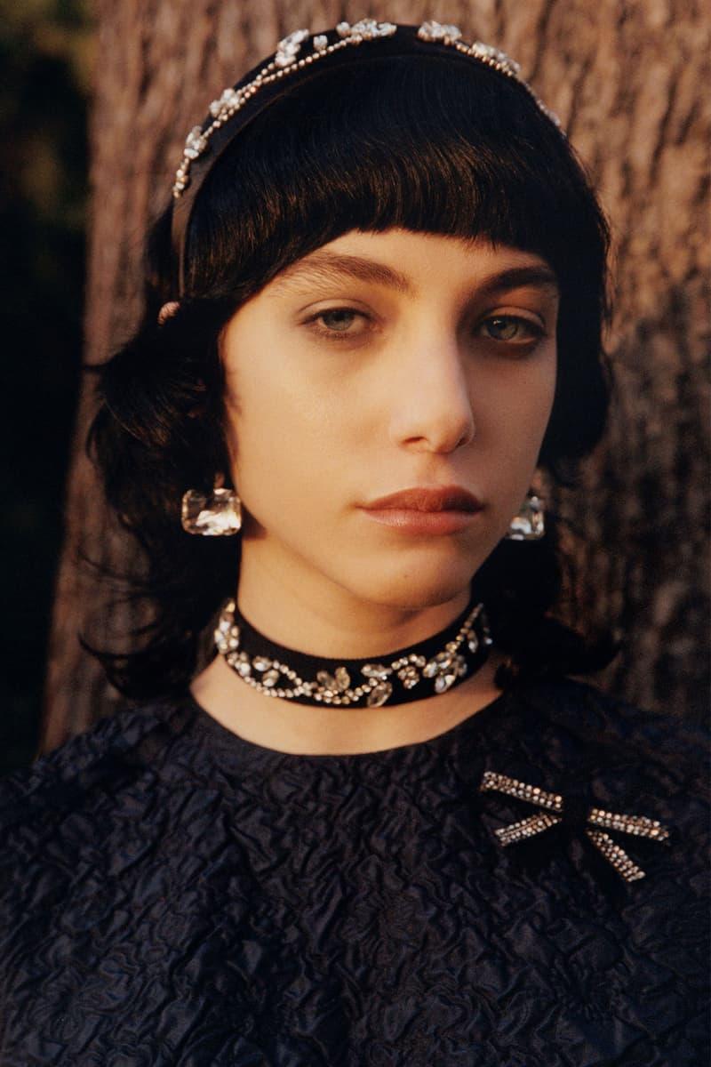 erdem moralioglu pre-fall 2021 collection lookbook nancy mitford hairband jewelry