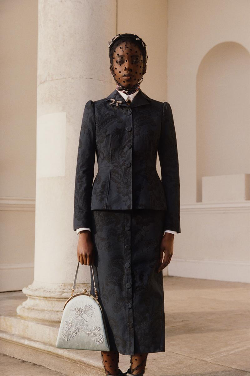erdem moralioglu pre-fall 2021 collection lookbook nancy mitford lace skirt suit