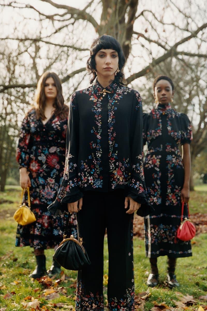 erdem moralioglu pre-fall 2021 collection lookbook nancy mitford black floral
