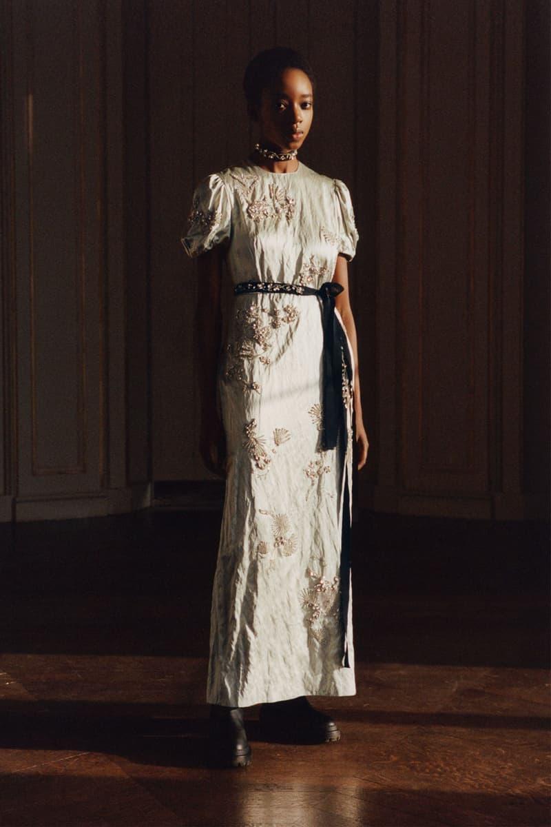 erdem moralioglu pre-fall 2021 collection lookbook nancy mitford white dress