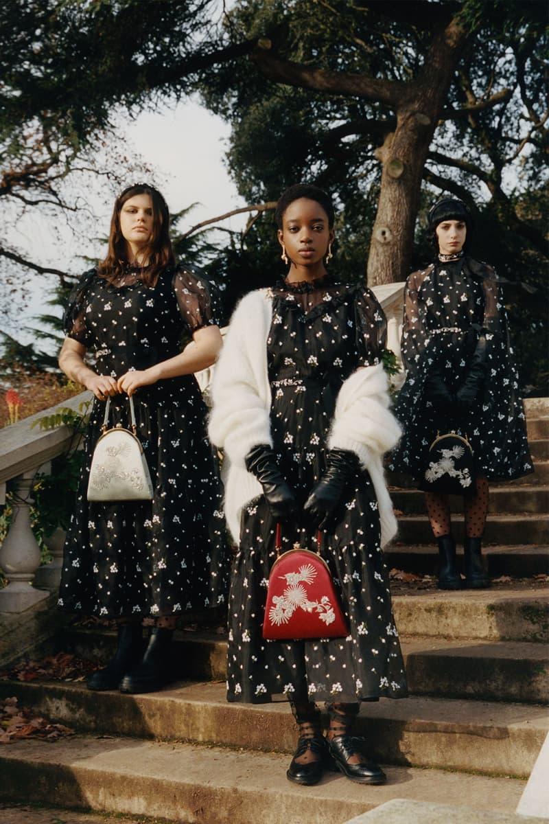 erdem moralioglu pre-fall 2021 collection lookbook nancy mitford floral dresses
