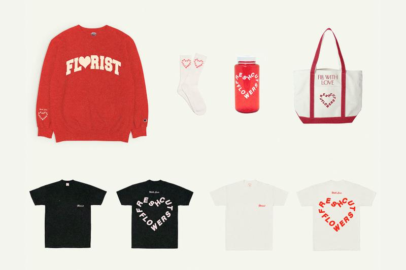 fresh cut flowers valentines day vtines hearts red sweatshirt t-shirts tote bags