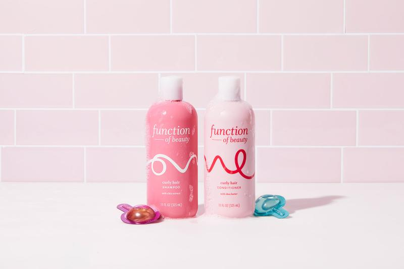 function of beauty target customizable haircare shampoos conditioners