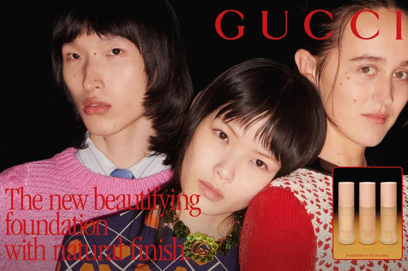 gucci beauty new primers serums foundations natural finish fluid 40 shades price release alessandro michele