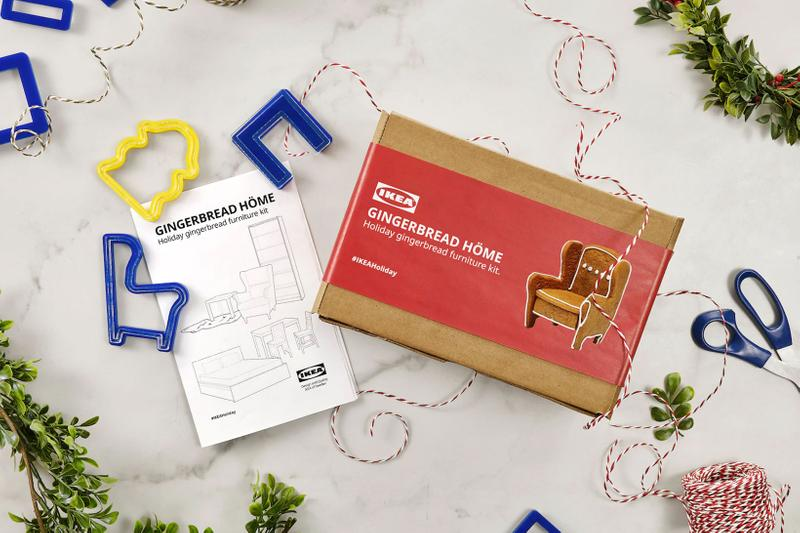 ikea christmas gingerbread home furniture baking kit cookies holiday activities canada
