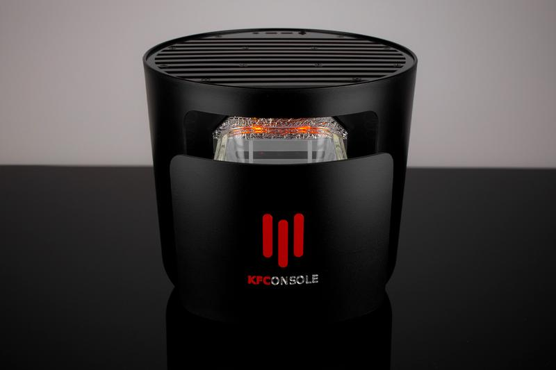kfc gaming console kfconsole release black red fried chicken bucket warmer