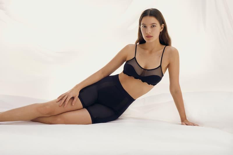 la perla holiday campaign lingerie underwear bras loungewear pajamas