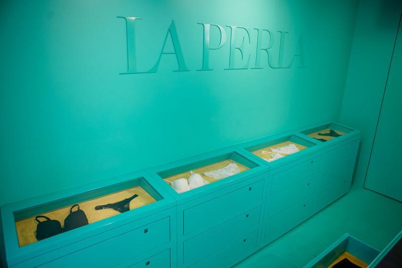 la perla retail lab store flagship soho new york lingerie