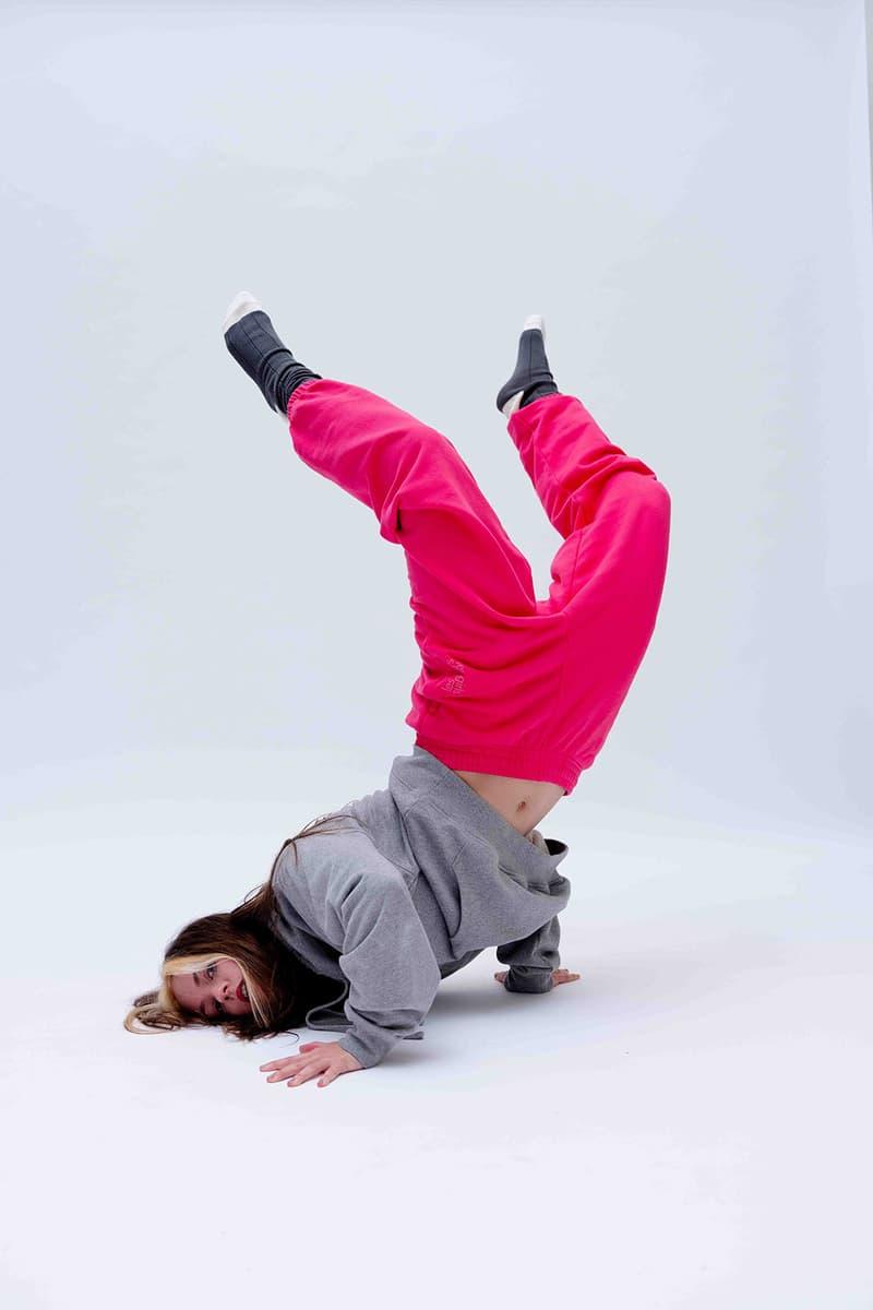 les girls les boys free style winter 2021 dance film campaign hoodies sweatpants joggers jersey