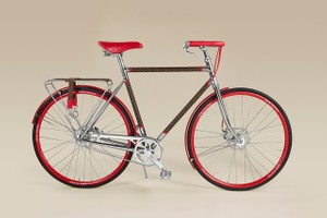 Picture of Louis Vuitton's Maison TAMBOITE's LV Monogram Bike Combines Craftsmanship and Luxury