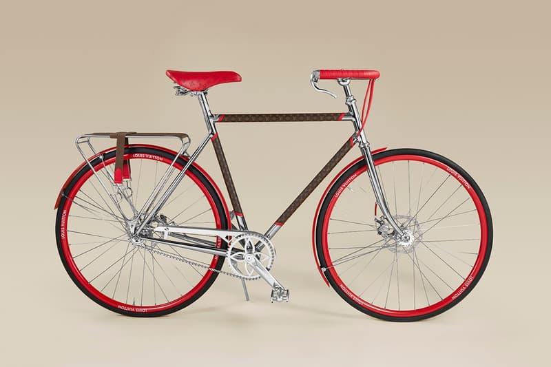 Louis Vuitton Maison TAMBOITE LV Monogram Bike Release Made-to-Order Logo Print Craftsmanship
