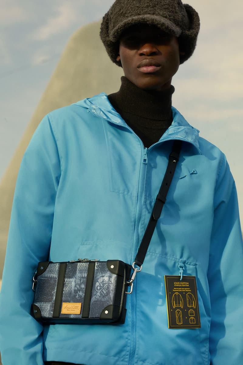 louis vuitton mens pre-fall 2021 collection lookbook virgil abloh messenger trunk handbag