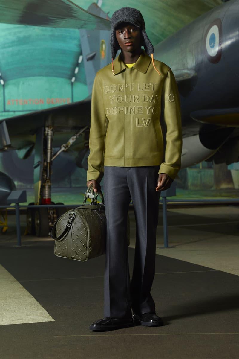 louis vuitton mens pre-fall 2021 collection lookbook virgil abloh lv dont let your day define you jacket