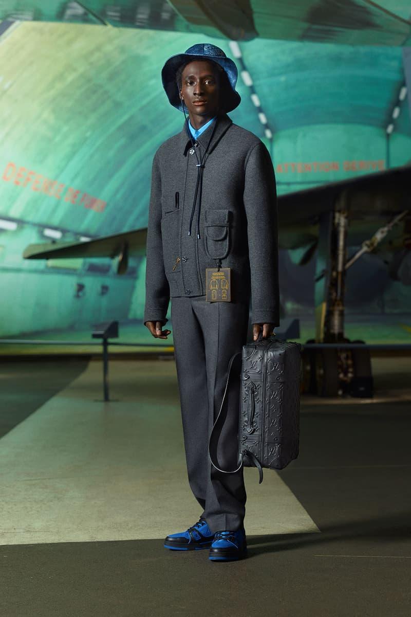 louis vuitton mens pre-fall 2021 collection lookbook virgil abloh soft trunk lv monogram backpack