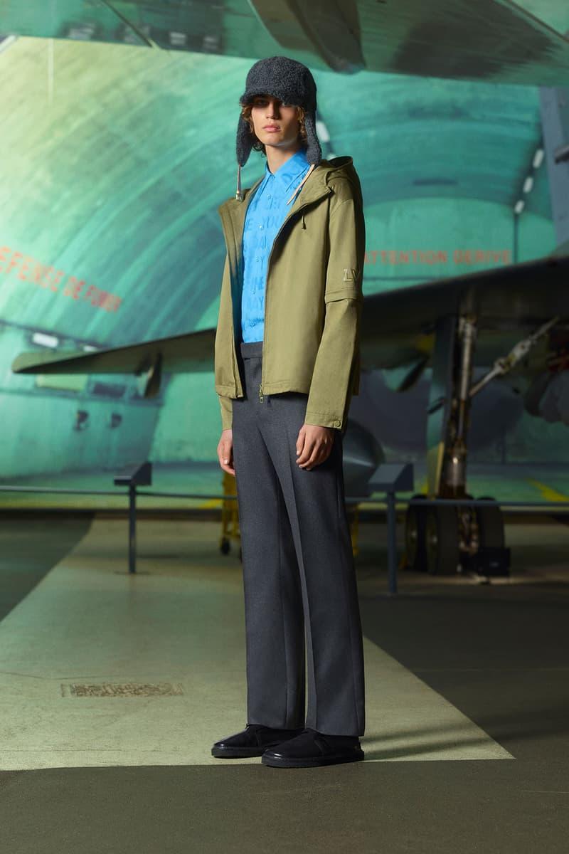 louis vuitton mens pre-fall 2021 collection lookbook virgil abloh hat jacket