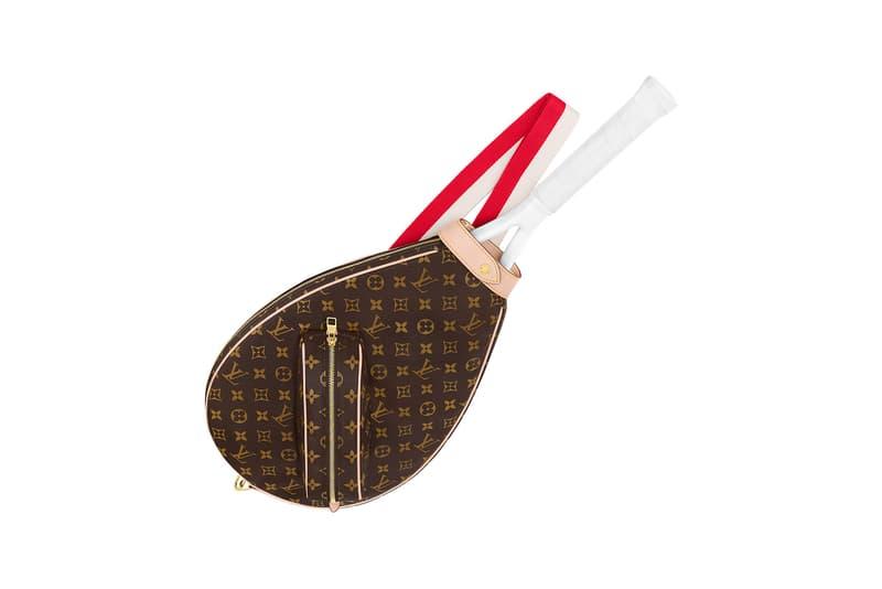 louis vuitton tennis racket cover monogram accessory