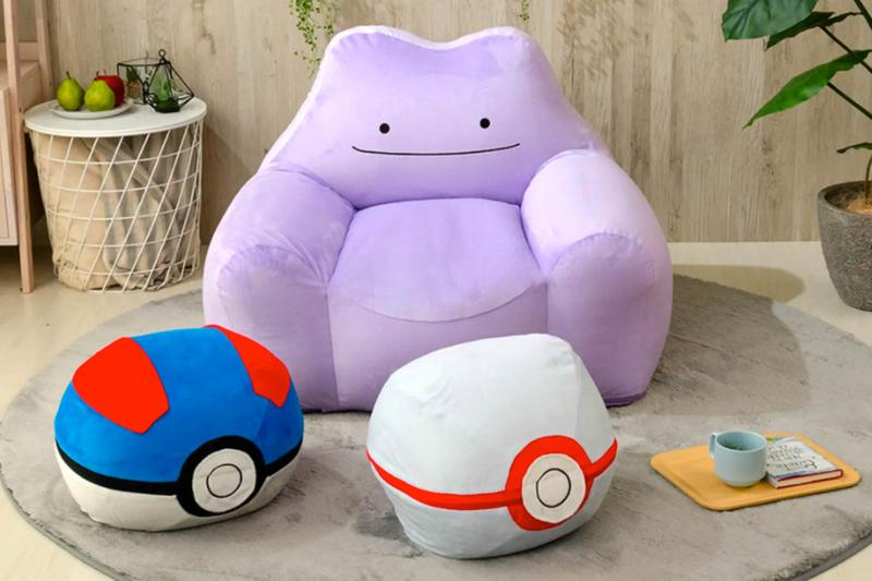 cellutane pokemon ditto metamon soft sofa armchair purple home furniture release where to buy