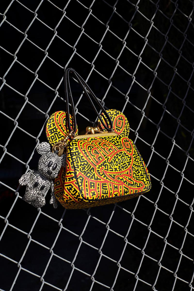 Mickey Mouse x Keith Haring x Coach Bag Collaboration Collection