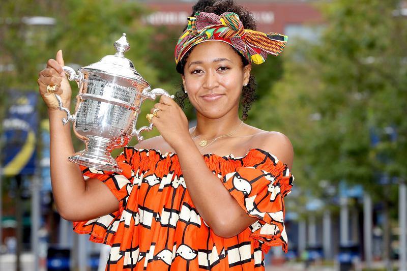Naomi Osaka AP Female Athlete of the Year Tennis Lebron James Title Basketball Black Lives Matter Advocate Support