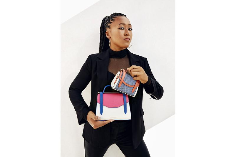 Naomi Osaka x Strathberry Bag Collaboration Collection Campaign Ace Allegro