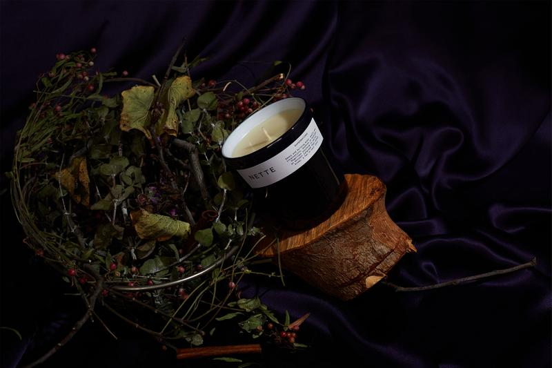 nette candles sustainable eco-friendly home scents supernatural black