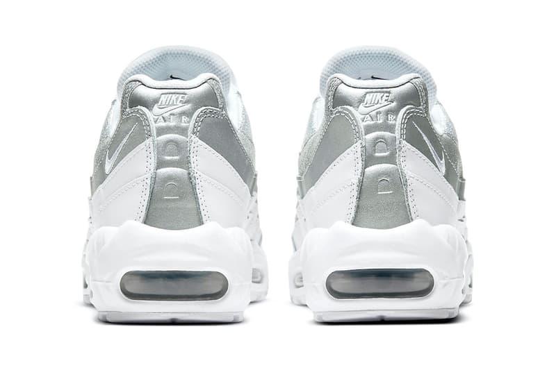Nike Air Max 95 Silver White Metallic