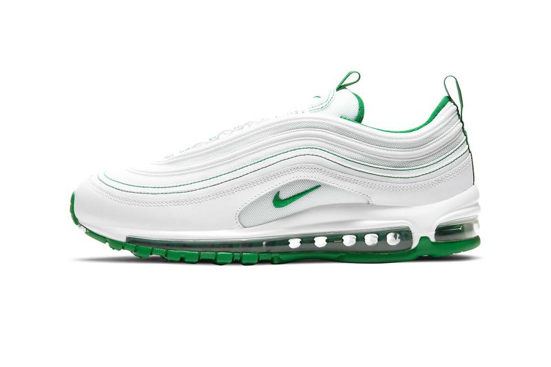 nike air max 97 am97 pine green white sneakers price release info