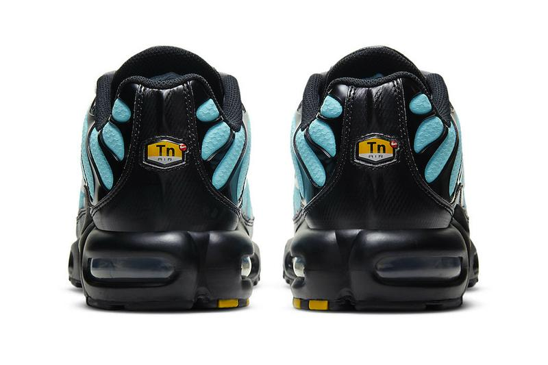 nike air max plus teal tiffany blue sneakers black release date price info