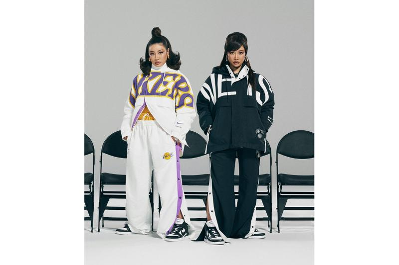 ambush nike nba yoon ahn dunk high collaboration los angeles lakers brooklyn nets jerseys jackets interview