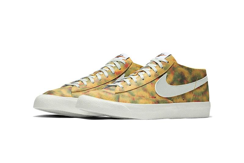 Nike Blazer Nike by You Tie-Dye Customization Sneaker Colorful Mid High Low