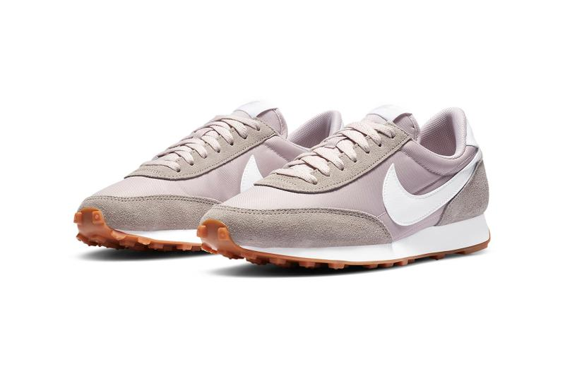 nike daybreak womens sneakers muted purple white brown sneakerhead footwear shoes