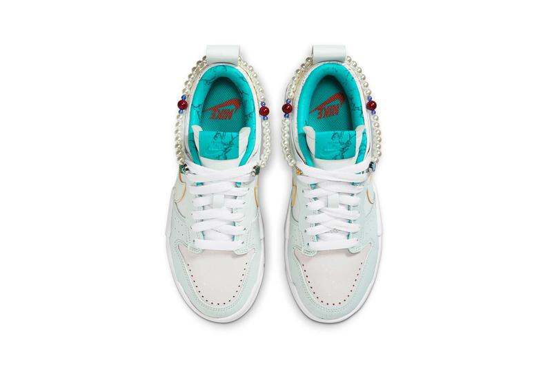 Nike Dunk Low Disrupt Forbidden City Pearl Blue White
