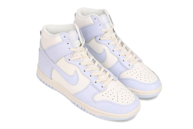 nike dunk high new colorway 2021 release football grey gray sail off white