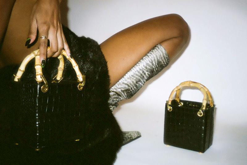 outnumber fall winter collection dress bags lookbook accessories skirt