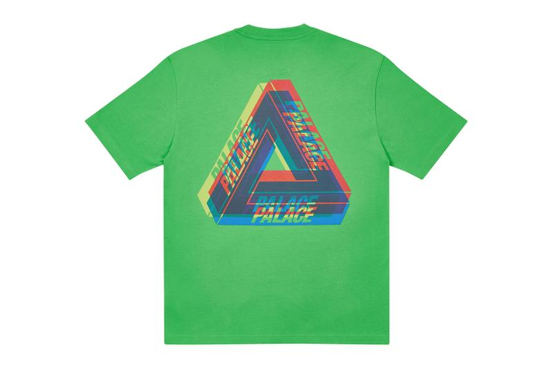 palace skateboards holiday drop 5 green t-shirts tees release when to buy