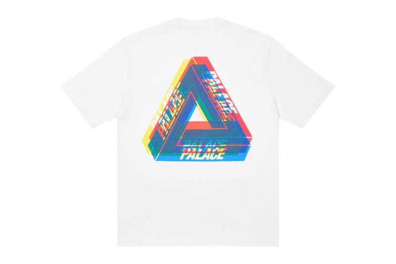 palace skateboards holiday drop 5 white t-shirts tees release when to buy