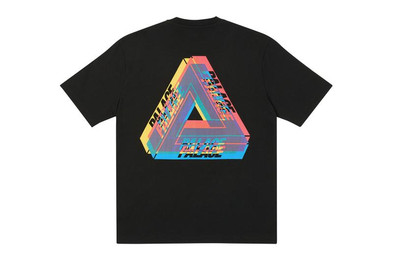 palace skateboards holiday drop 5 black t-shirts tees release when to buy