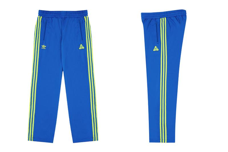 palace skateboards holiday drop 5 adidas originals tracksuits blue pants release when to buy