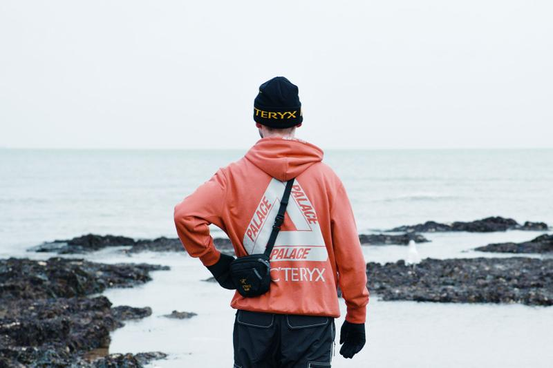 arcteryx palace skateboards collaboration outdoor jackets beanies hoodies gore-tex outerwear release