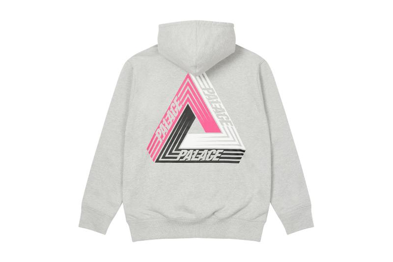 palace skateboards logo hoodies holiday drop 6 gray grey